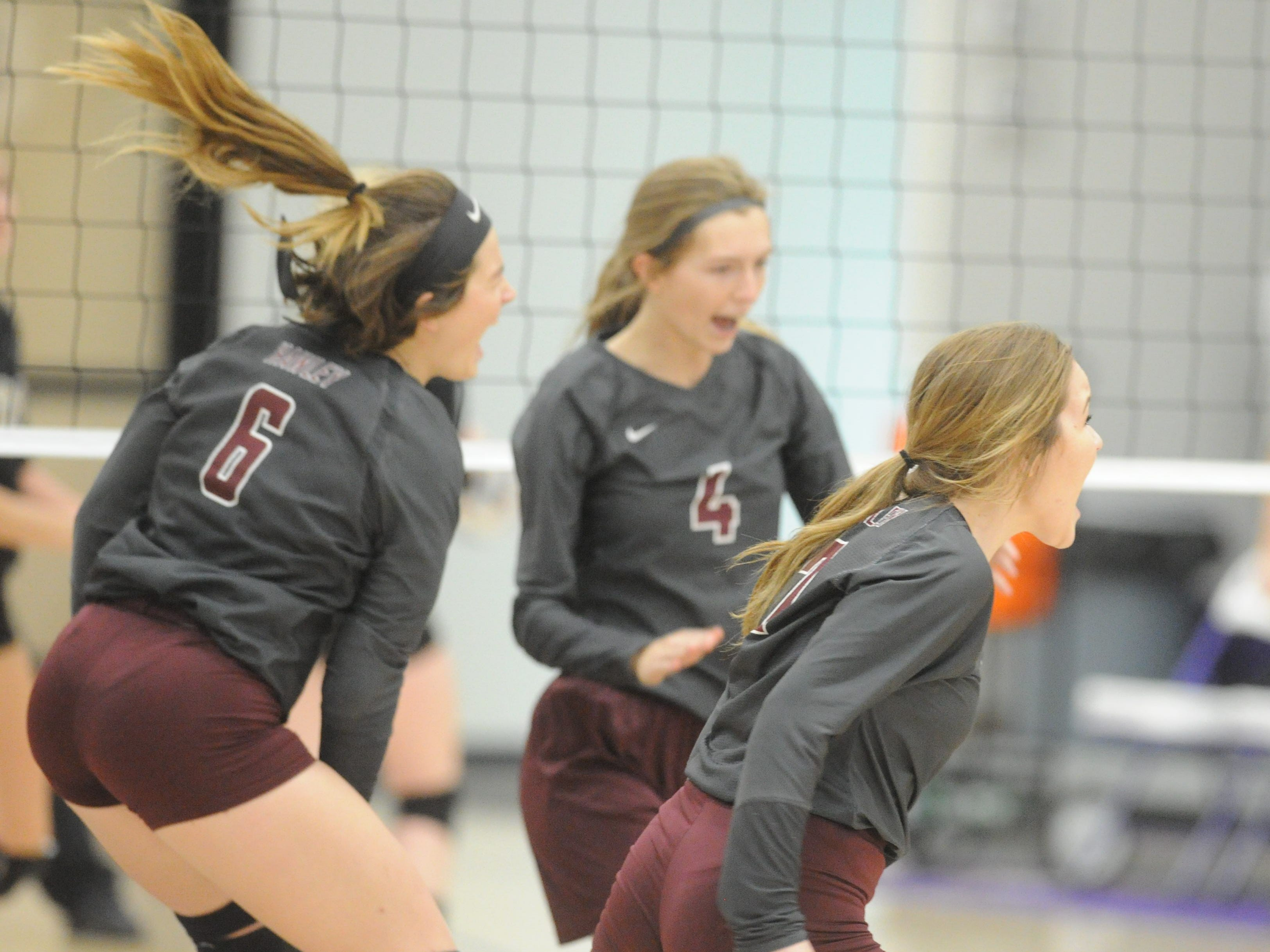 Hawley-Quanah volleyball