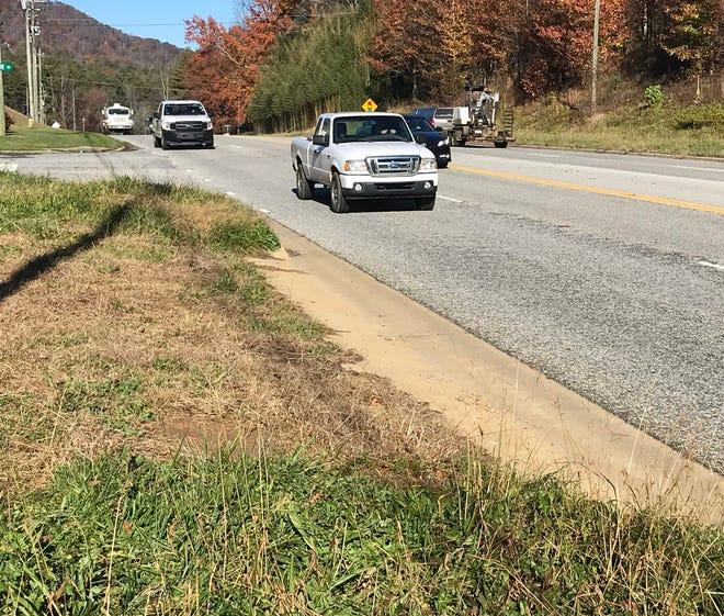 """The N.C. DOT did leave numerous """"access points"""" along Charlotte Highway a few years ago after widening the road to ensure property owners were not cut off from using their property."""