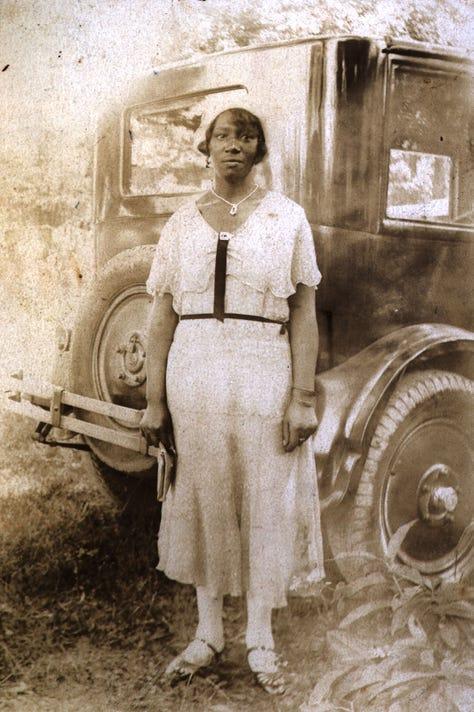 Woman By Automobile Riverside Eas221
