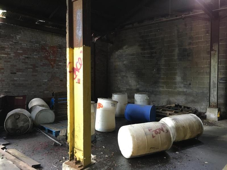 The EPA identified hazardous materials and waste at property that used to be the United Steel and Wire Co. at 27 Fonda Ave. The waste was found within the onsite building, so the EPA's main work will involve removing the materials and cleaning up spills and waste piles.