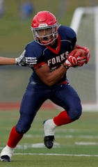 Jeremiah Allen, an 18-year-old senior on the Chenango Forks football team, has broken the school record for rushing.