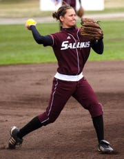 Lauren Haas, one of the top softball players to come from a Kitsap high school, later starred at Southern Illinois University.
