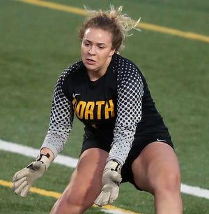 North Kitsap goalkeeper Sophia Pixton