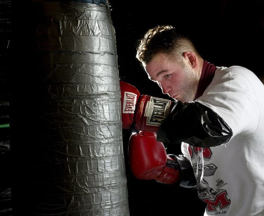 Brock Stodden in 2007. Stodden finished his boxing career with an 18-17-1 record, but achieved his dream of winning a belt.