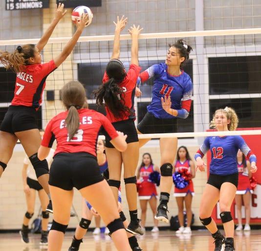 Gregory-Portland volleyball