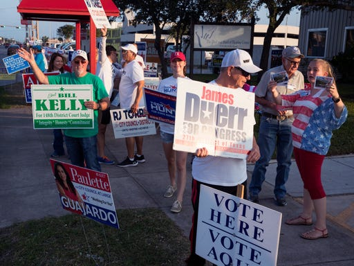 2018 Texas Election: election results for Nueces County area