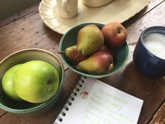 Keeping a food journal can inspire gratitude while fighting food waste