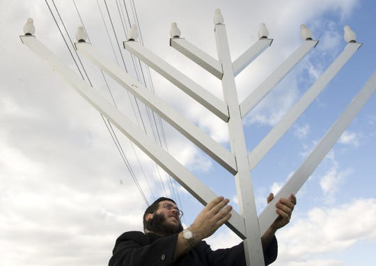 Chabad Lubavitch of Camden and Burlington Counties will hold several menorah-lighting events this season.
