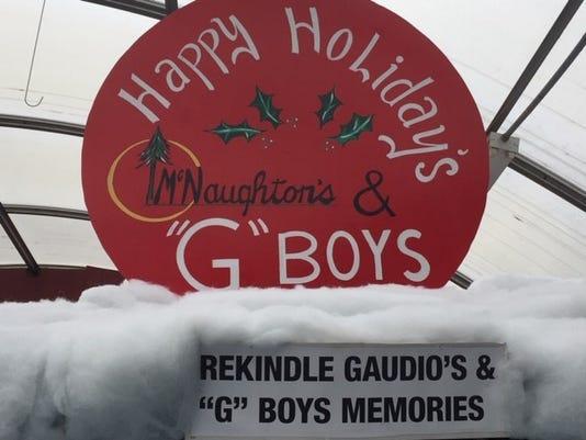 G Boys Sign