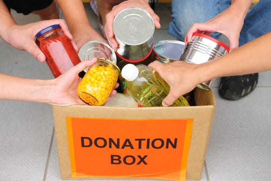 Did you over purchase for the holidays? Responsible giving is one way to share an overabundance of foods, but be sure to follow food bank guidelines.