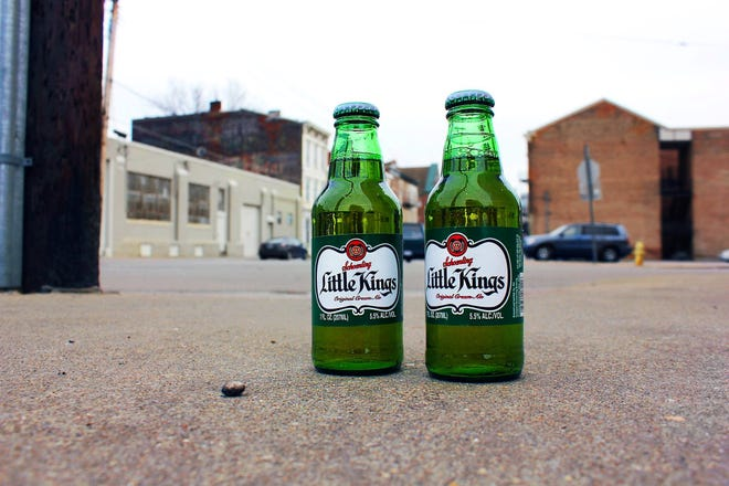 Two 7-ounce bottles of Little Kings, brewed in Cincinnati