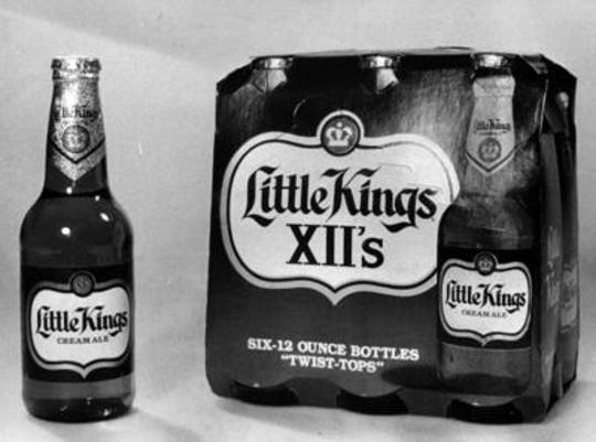 Little Kings, known in its 7-ounce form, was also bottled in 12-ounce bottles. This commemorative issue was from 1983.