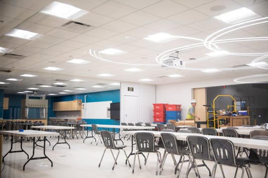 Classrooms at the Cincinnati Museum Center have been updated and improved to enhance education programming.