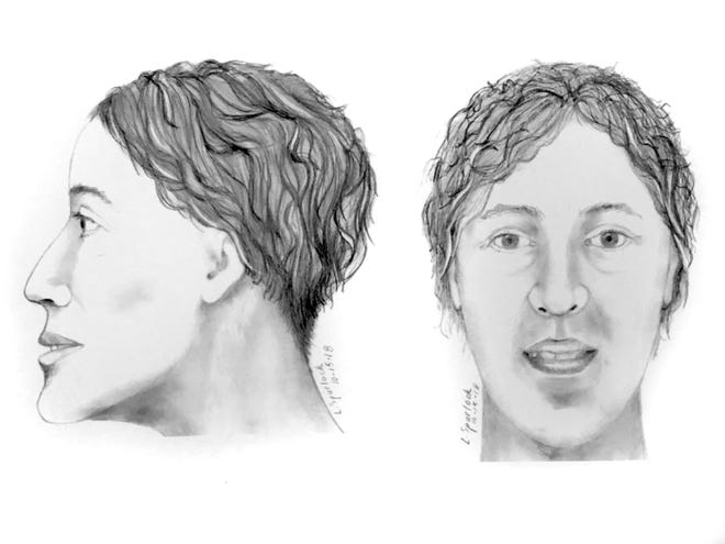 Police are trying to identify a woman found buried in Avondale in May.