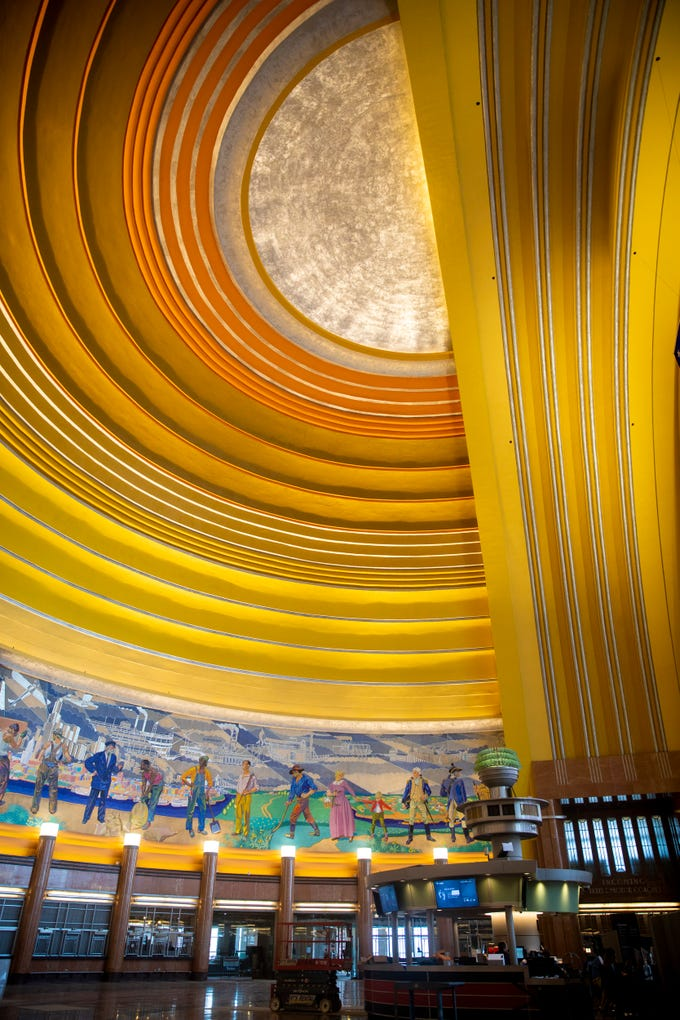 The Cincinnati Museum Center at Union Terminal will open to the public Saturday, November 17, 2018, after a $228 million project that focused on replacing and repairing deteriorating parts of the 83-year-old building. The project took more than two and a half years.