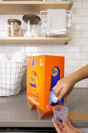 P&G is introducing new Tide packaging that is specifically designed for ecommerce: The Eco-Box.