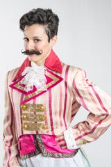 """Longtime CSC acting company member Caitlin McWethy stars as Viola in """"Twelfth Night."""""""