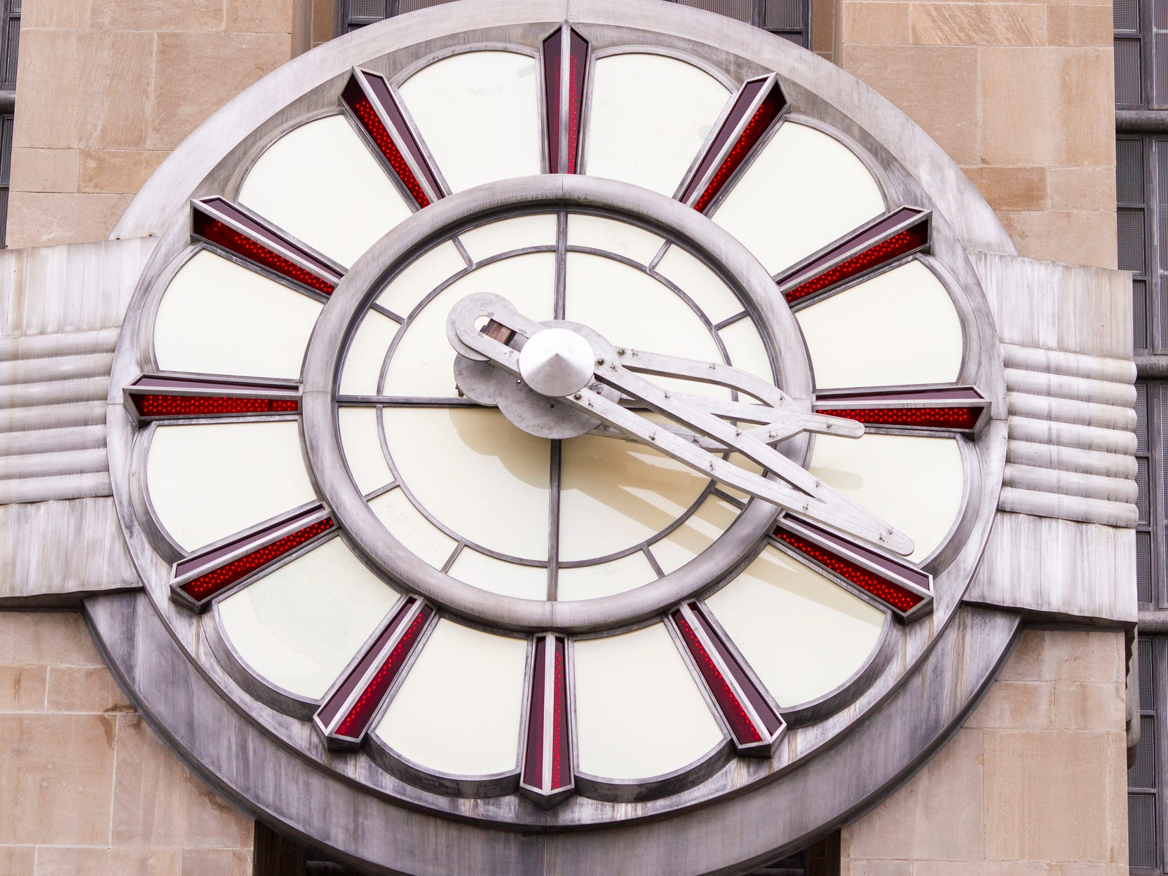 After more than a year of repairs and restoration, Union Terminal's clock was reinstalled.
