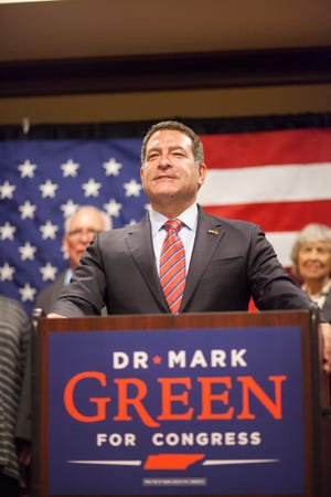 Mark Green officially announced his resignation as senator for the 22nd District effective Jan. 3. He won the race for Marsha Blackburn's open congressional seat earlier this month.