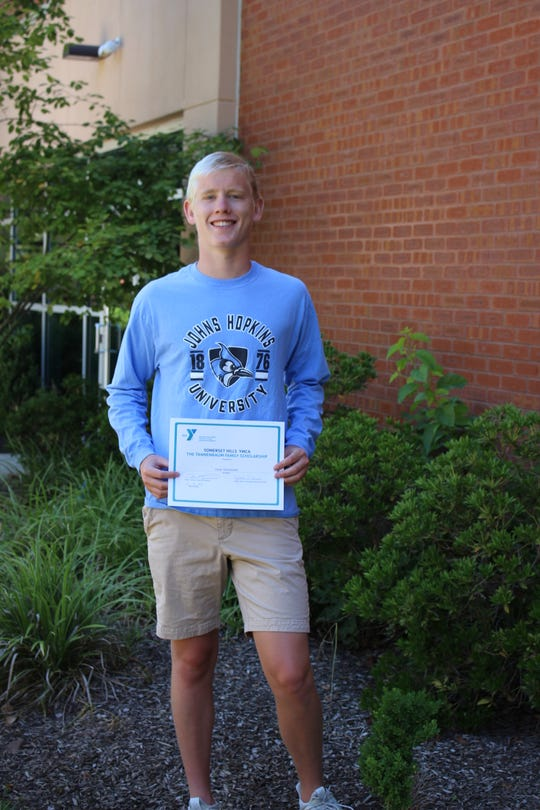 Dylan Wachenfeld of Basking Ridge, winner of the Tannenbaum Family scholarship