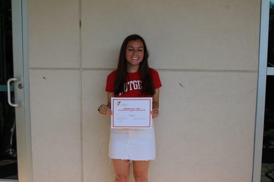 Lauren Gayoso of Far Hills, winner of the Millicent Fenwick scholarship