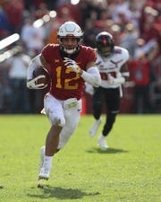 Iowa State Cyclones defensive back Greg Eisworth won multiple Big 12 honors on Wednesday.