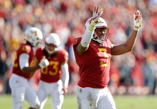 Iowa State's JaQuan Bailey was named to the Bednarik Award watch list.