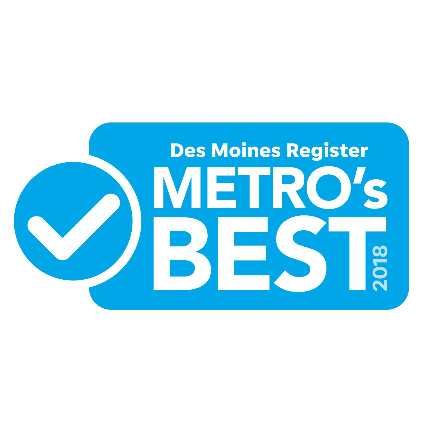 2018 Des Moines Register Metro's Best