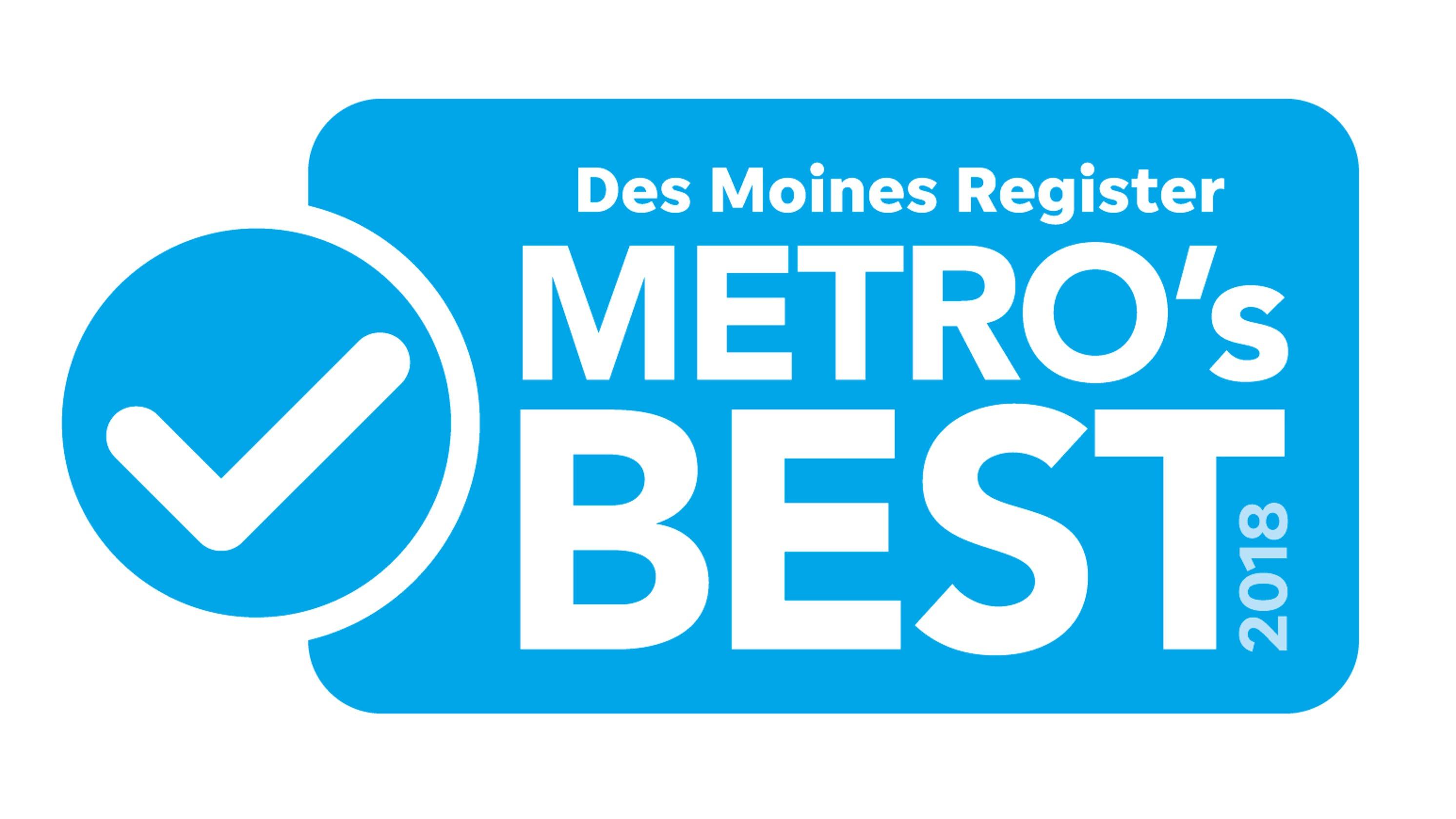 2018 Des Moines Register Metro S Best