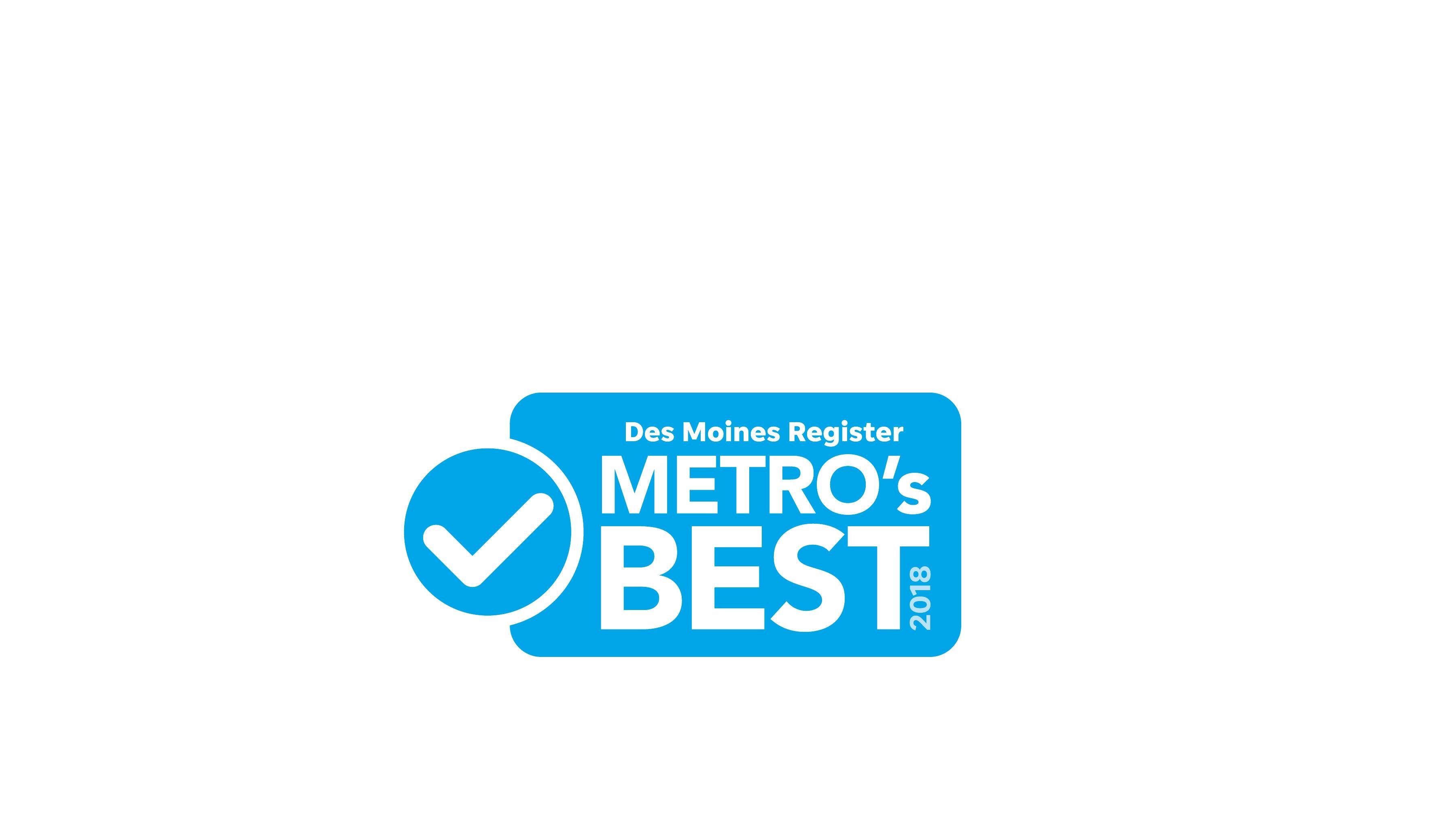 Des Moines Register Metro's Best