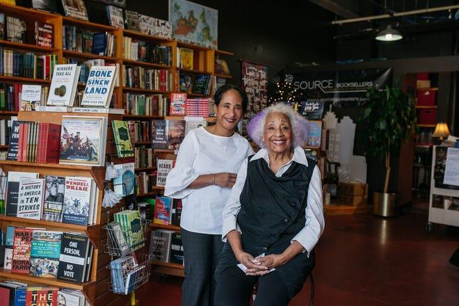 Janet Jones of The Source bookstore in Detroit's Midtown district with her daughter Alyson Jones Turner.