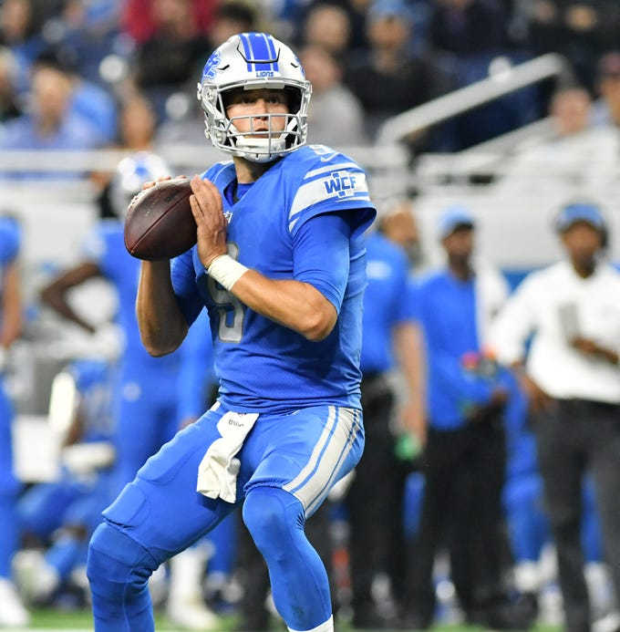 Go through the gallery to see the Detroit Lions midseason grades and analysis by Justin Rogers of The Detroit News.