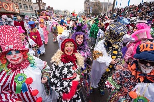Clowns Celebrating