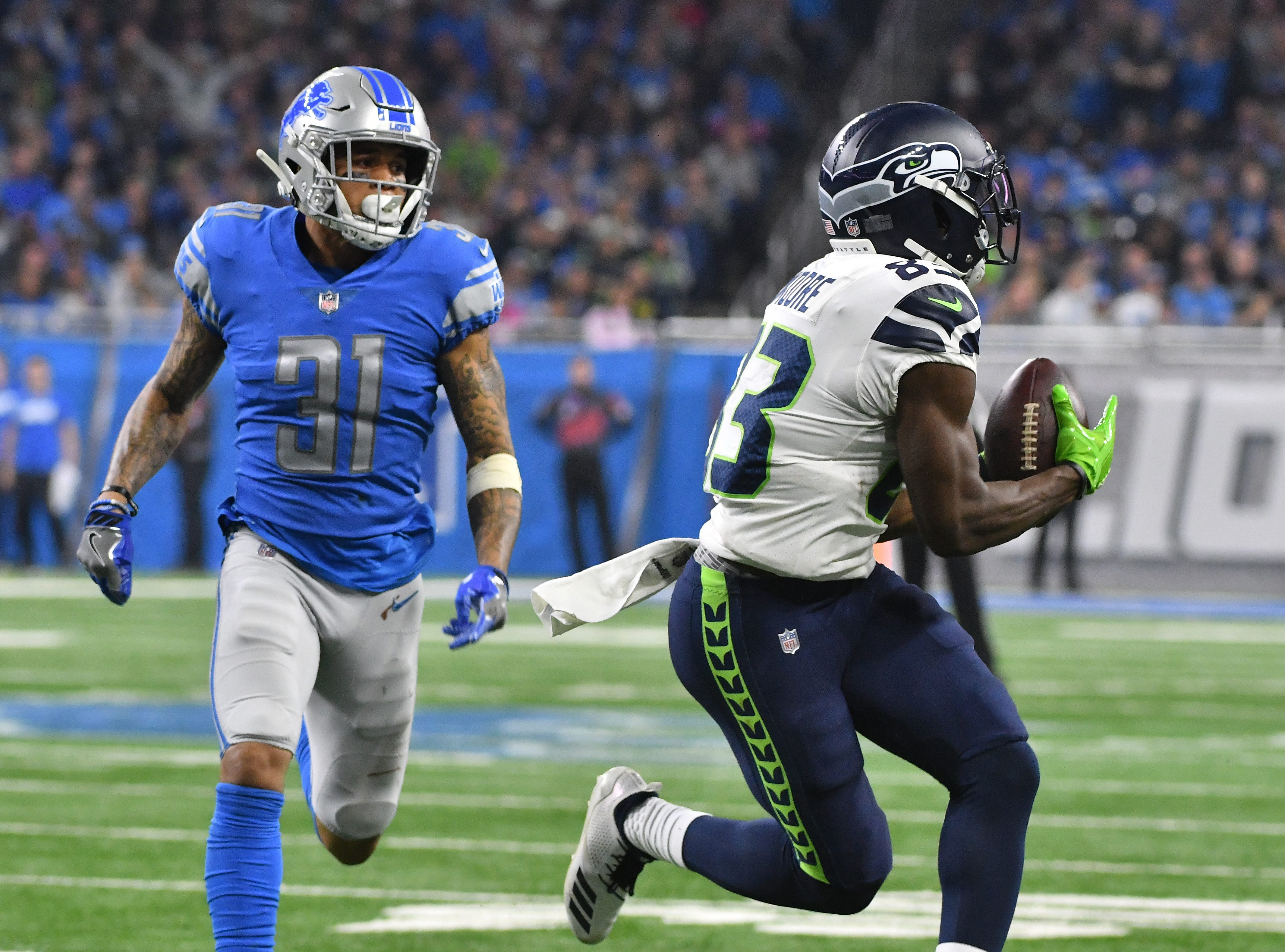 CB Teez Tabor: Tabor has been an unmitigated disaster. The second-round pick from a year ago is allowing a perfect passer rating when in coverage and has been racking up penalties at a troubling clip, drawing six flags, despite playing fewer than half as many snaps as Nevin Lawson. Grade: F