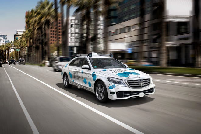 The global robo-taxi market might be worth over $2 trillion a year by 2030, and mass adoption of driverless vehicles could provide a significant boost to a number of existing sectors, according to UBS Group AG analysts.