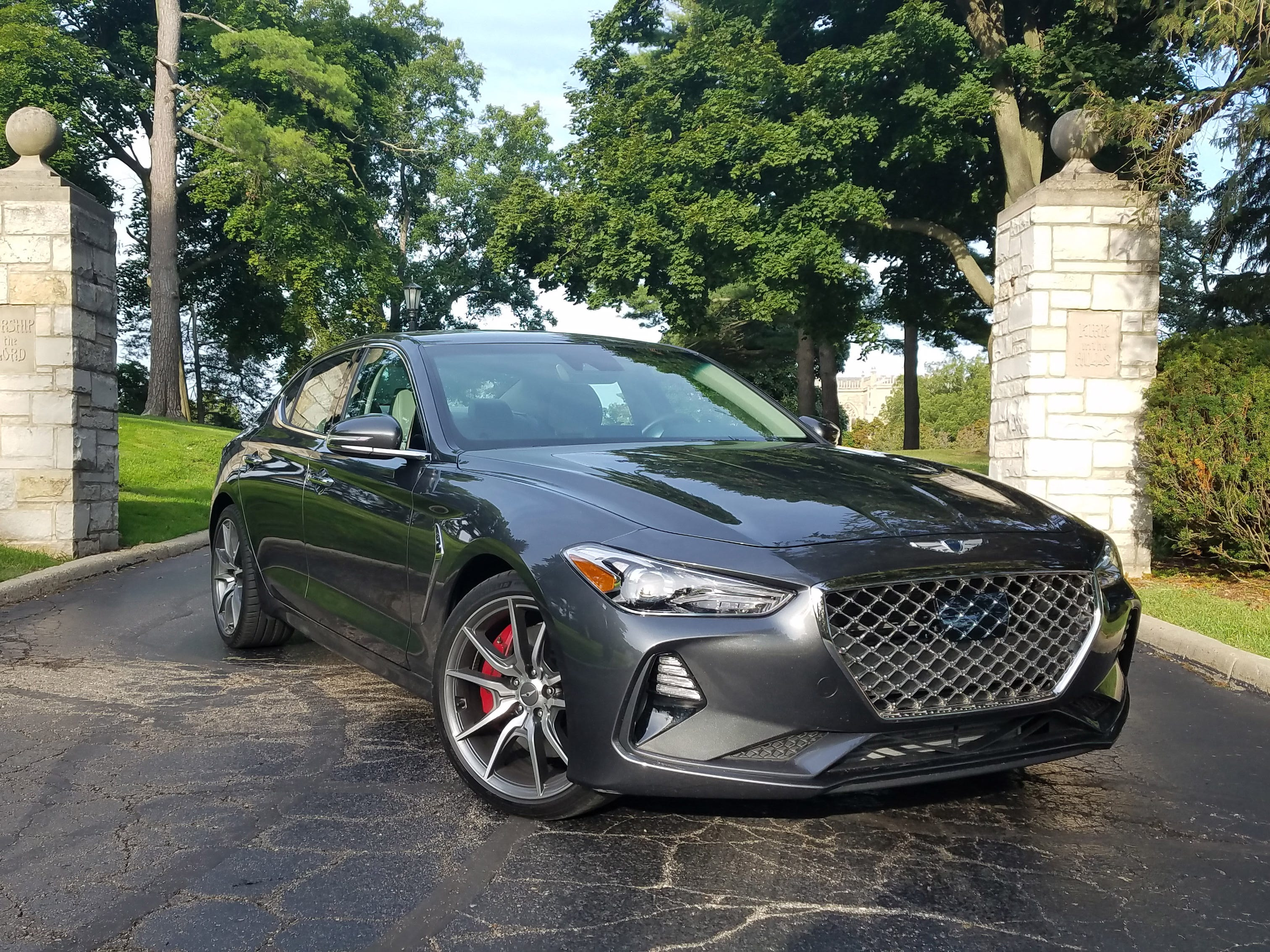 The 2019 Genesis G70 is the premium brand's entry-level sedan. Starting at $32,000 it brings value to the segment with multiple standard features as well as a 100,000-mile drivetrain warranty.