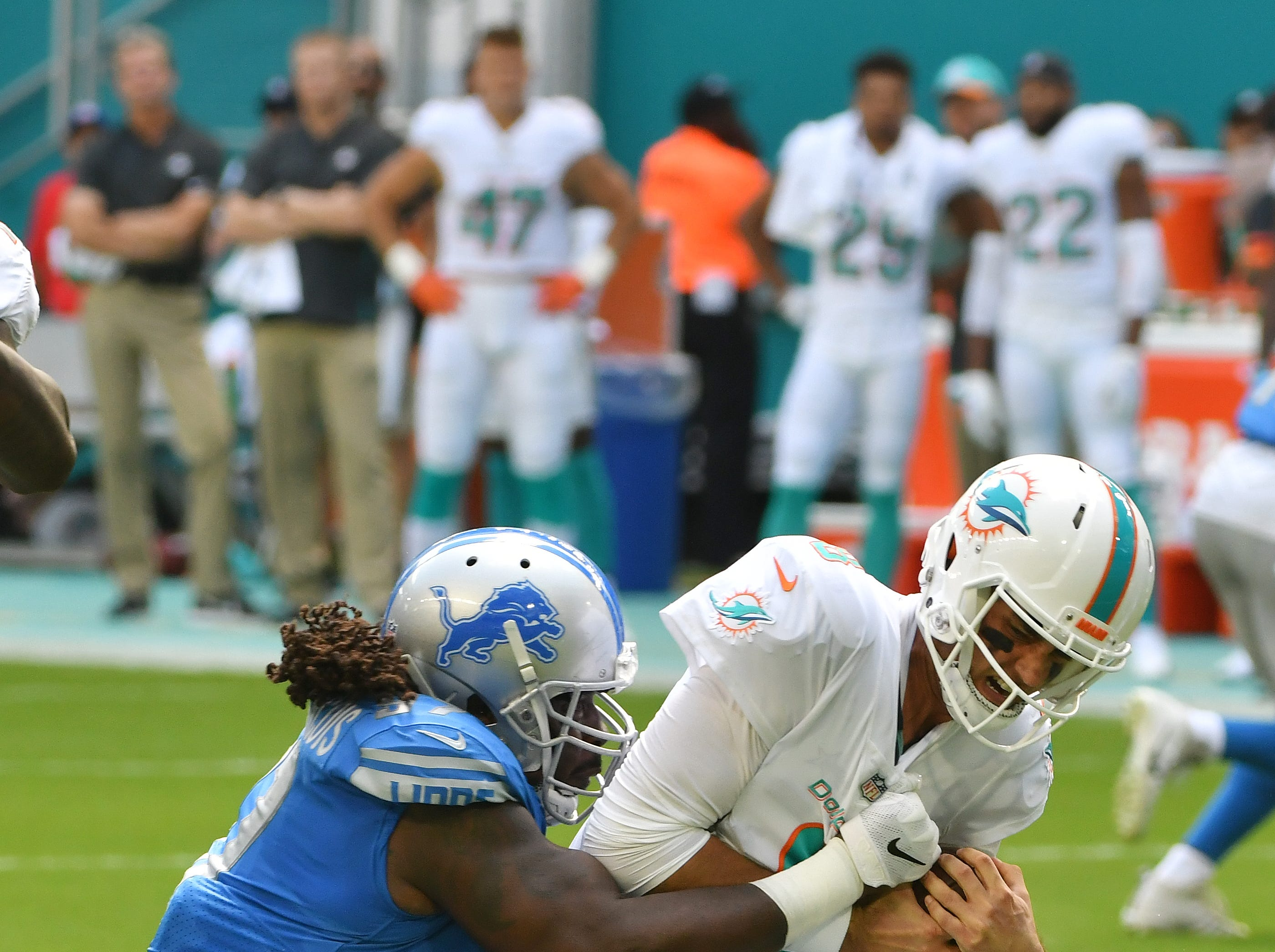 DT Ricky Jean Francois: Jean Francois has served his purpose as a one-year stopgap veteran. Outside of his two-sack showing in Miami, he's essentially played at a replacement level. Grade: C-