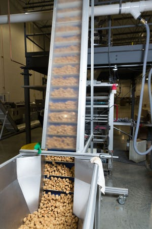 PetDine's manufacturing facility in Harvard, Illinois, produces more than 5 million treats per month.