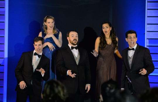 Cabaret singers from Gulfshore Opera
