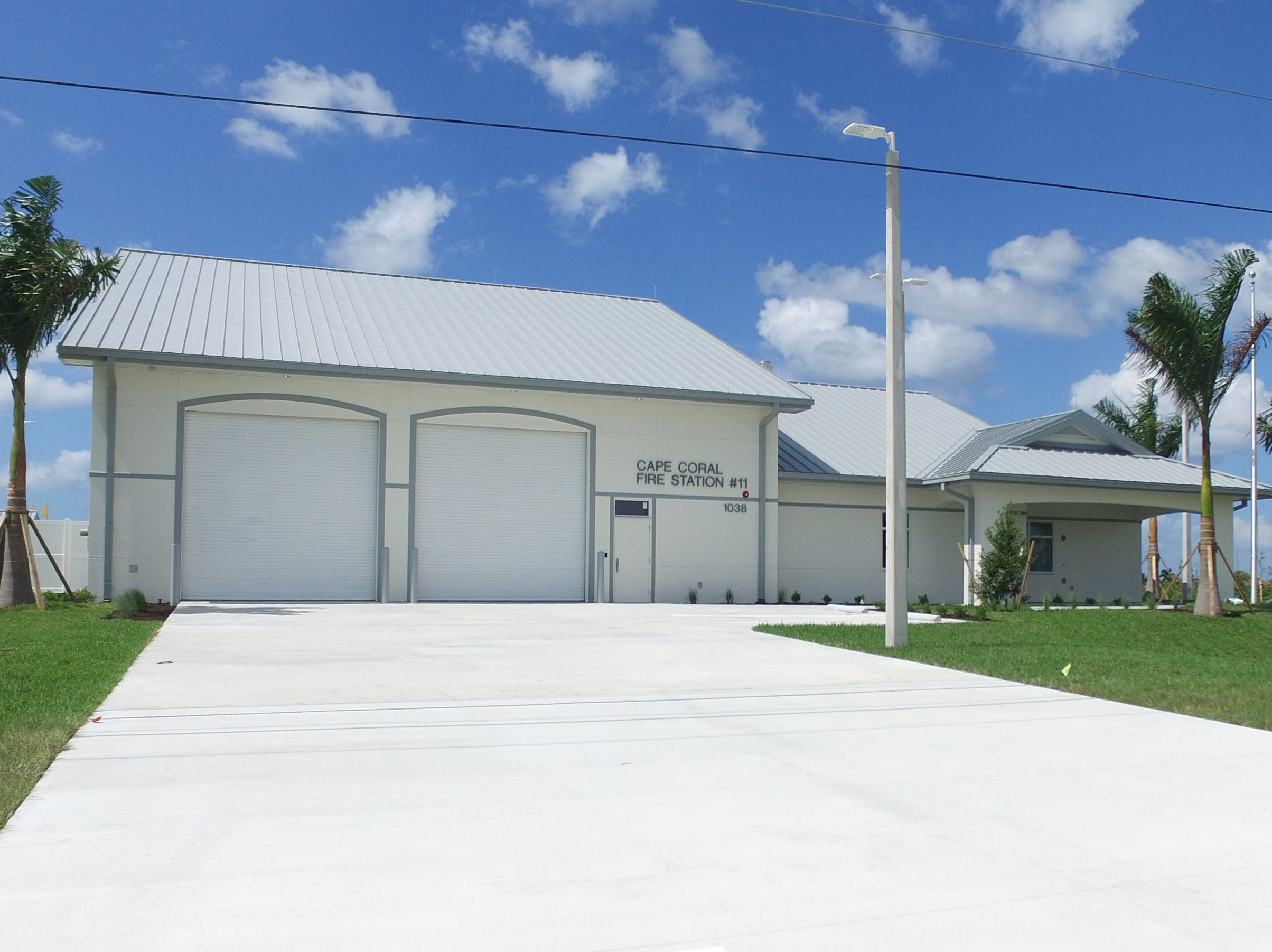 Cape Coral Fire Department opened Station 11 today.