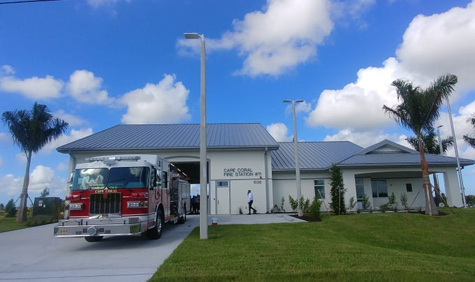 Cape Coral's newest fire station, Station 11, opened Wednesday.