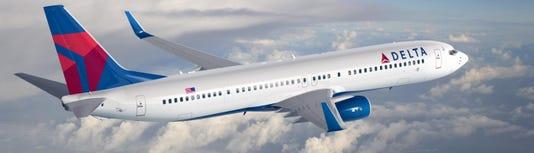 Delta Boeing 737 Carribean
