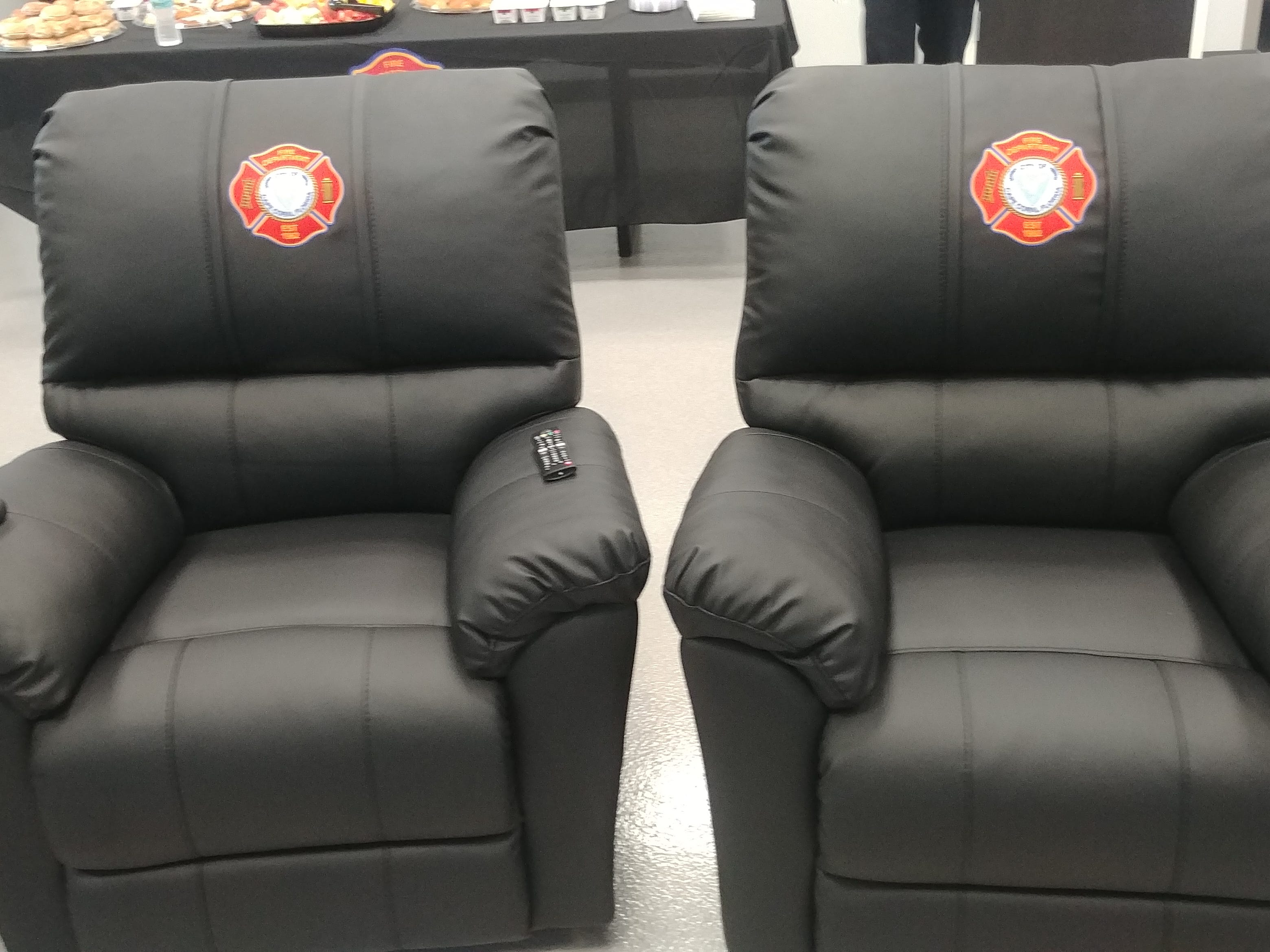 Firefighters will relax in custom recliners while waiting the next emergency call at the new Station 11 on Burnt Store Road in Cape Coral.