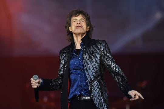 Mick Jagger of The Rolling Stones performs in Dublin, Ireland, in May on the band's No Filter Tour.