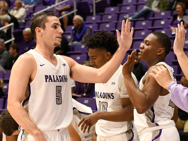 After nearly dying, Furman basketball's Andrew Brown is back on court