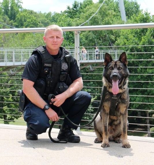 Officer Newman K 9 Officer Sarge