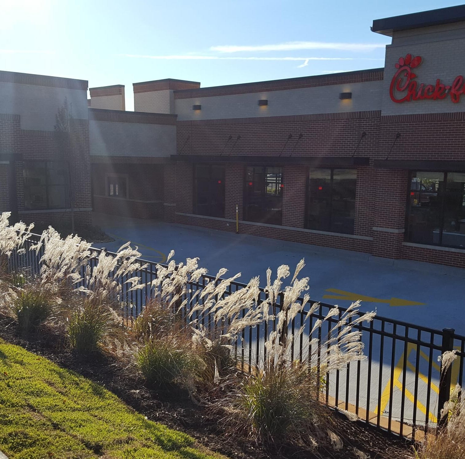 After 4 months, the Chick-fil-A will reopen with a bigger, better and updated look