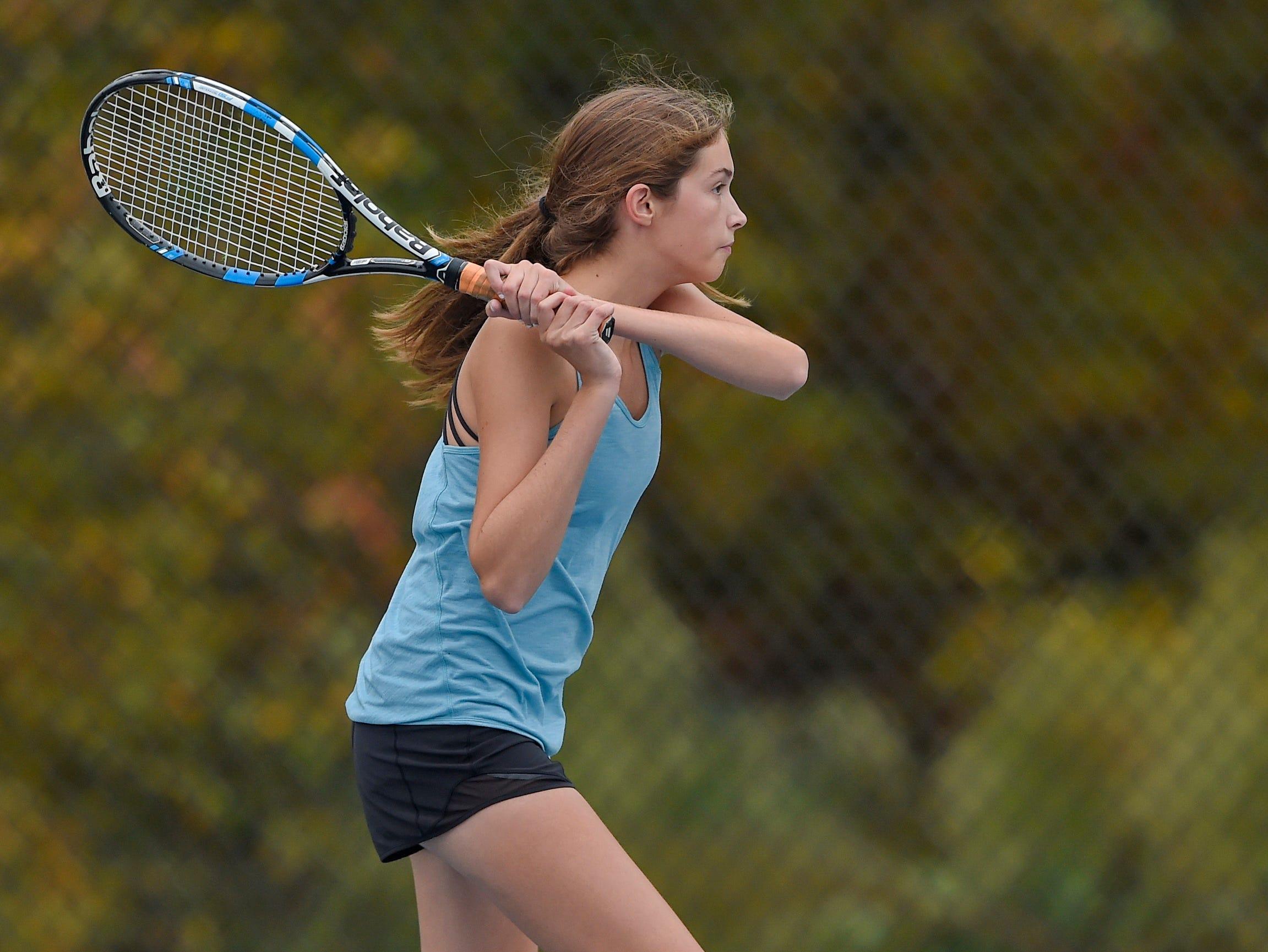 Christ Church host St. Joseph's in the Upper State girls tennis playoffs Monday, Nov. 5, 2018.
