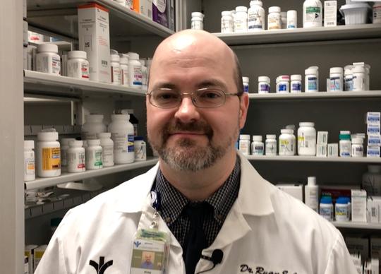 Dr. Ryan Cann, Bon Secours St. Francis Pharmacist
