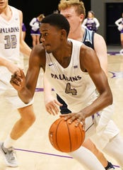 Freshman Noah Gurley had 19 points to lead five Furman players in double figures as the Paladins defeated VMI 96-62 on Saturday.
